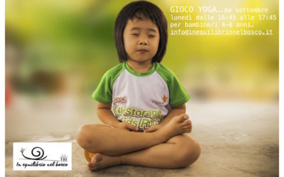 Gioco-yoga for Kids da settembre