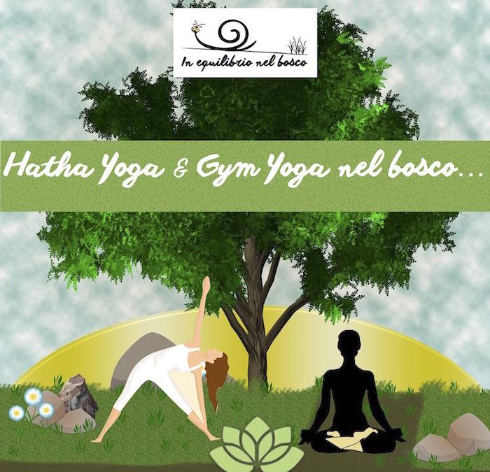 Gym yoga & Hatha Yoga nel bosco….