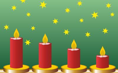 Laboratori di Natale…. Candele decorative con cera di recupero!